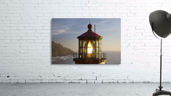 Heceta Head Lighthouse Along The Oregon Coast; Florence, Oregon, United States Of America