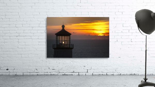 A sunset at North Head Lighthouse; Ilwaco, Washington, United States of America