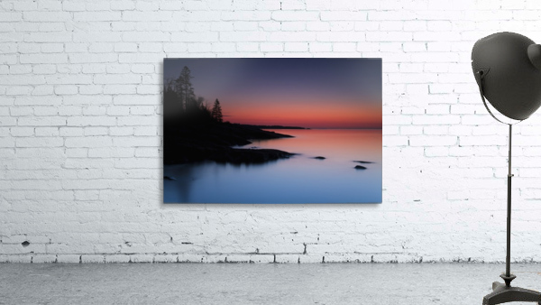 Dawn over the North Shore of Lake Superior, near Duluth; Minnesota, United States of America