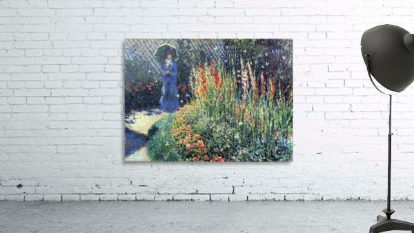 Gladiolas by Monet