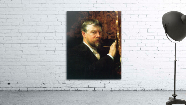 Self Portrait by Alma-Tadema