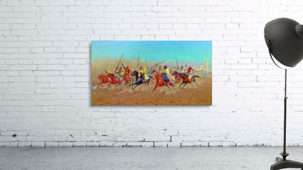 Charging Horsemen