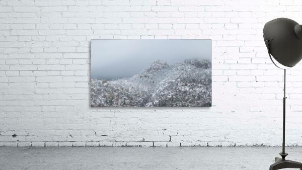 Sandia Mountains in Snow 1VP