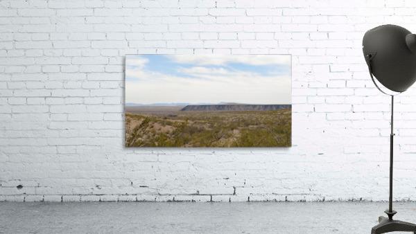 Landscape around Fort Craig VP5