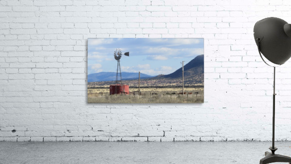 Windmill and Mountains VP1