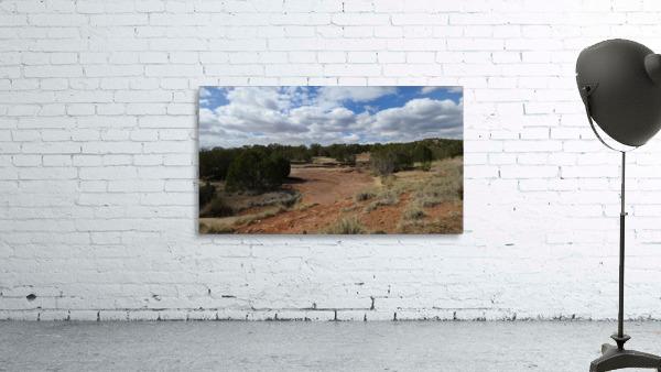 Landscape Near the Ruins of the Abo Pueblo VP9