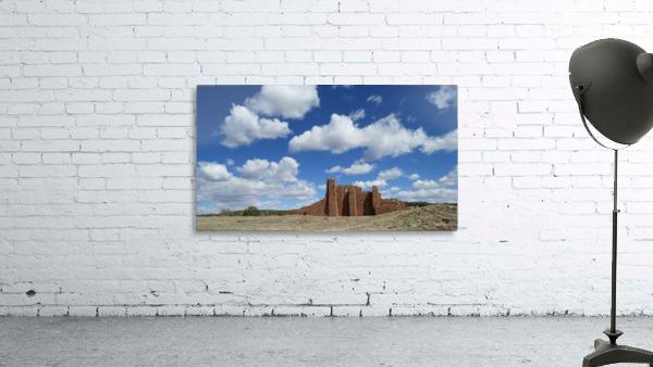 Ruins of Abo Pueblo  VP1