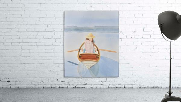 Girl in Rowboat