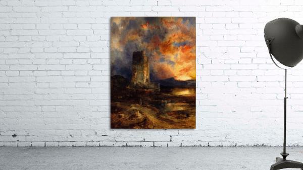 1880 Sunset on the Moor