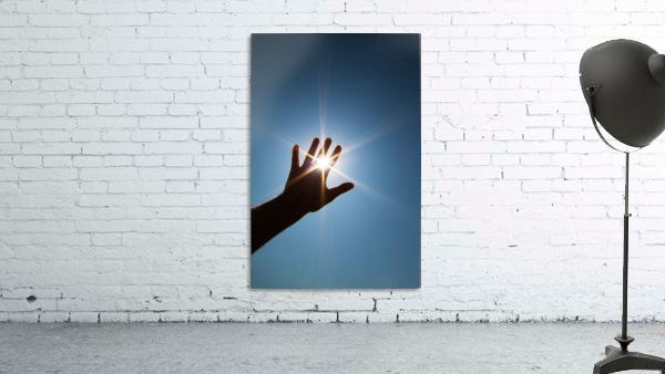Hand Sunburst