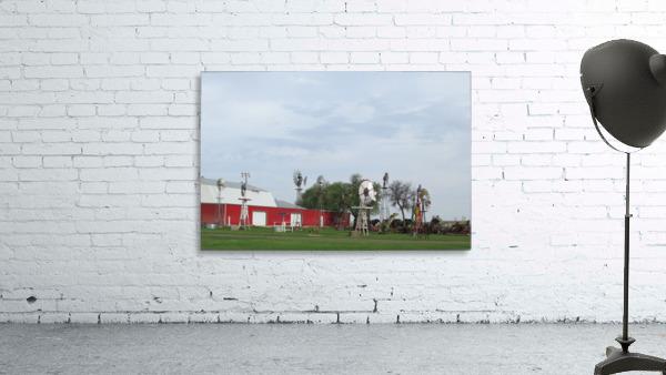 Windmills in Elk City, OK