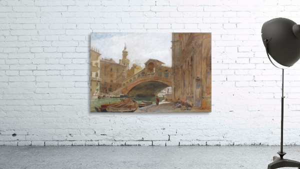 Landscape near a bridge