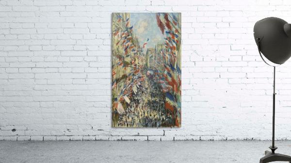 Monet - The Rue Montorgueil in Paris