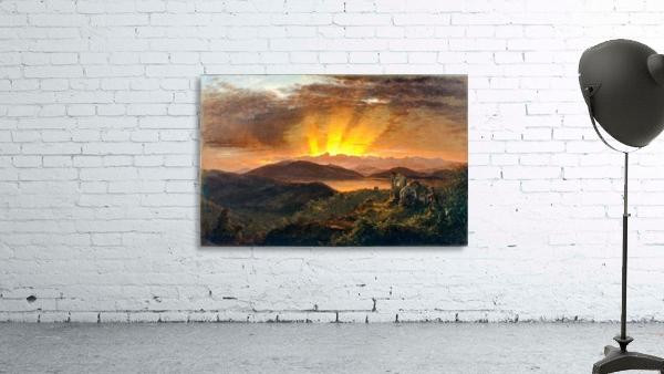 Sunrise on a valey