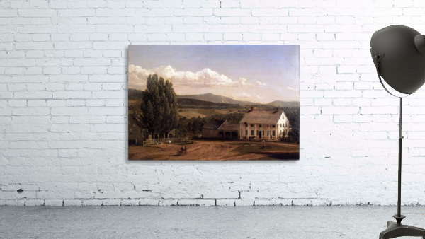 View in Pittsford Vt 1848