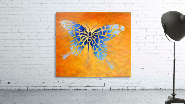 Tropenillo V1 - the blue butterfly