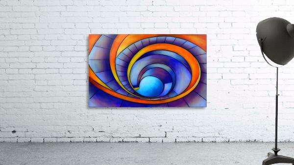 Melanissia - abstract moonrise
