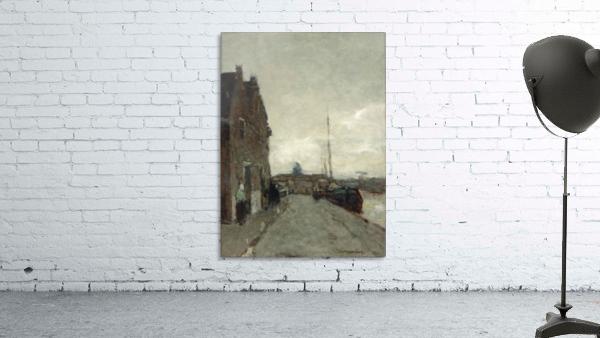 A View on Het Spaarne, Haarlem