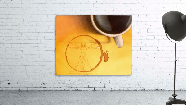 coffee man Print