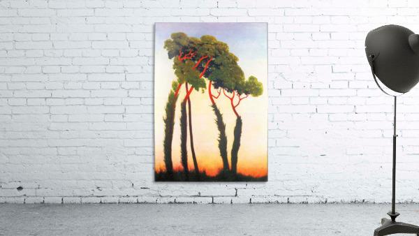 Five Trees by Felix Vallotton