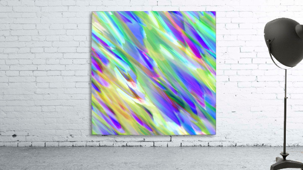 Colorful digital art splashing G401