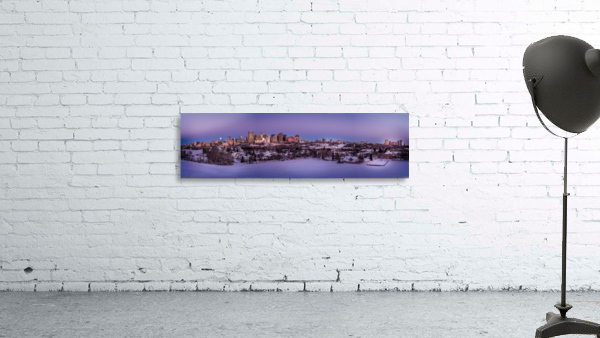 Panoramic City Landscape