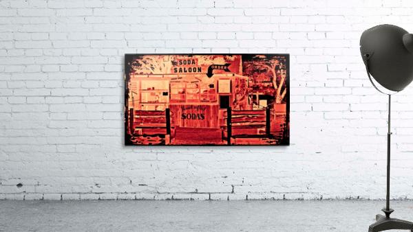 saloon Print