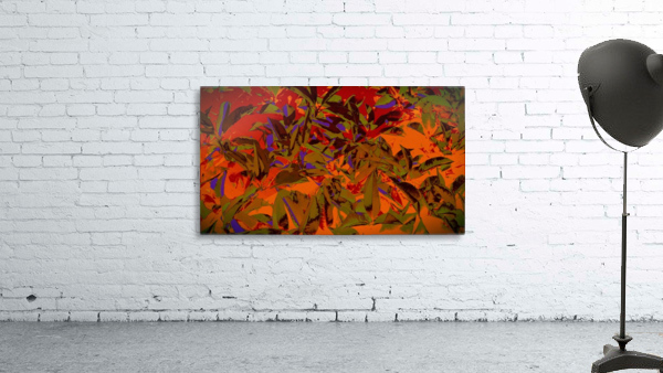 bushesabstract Print