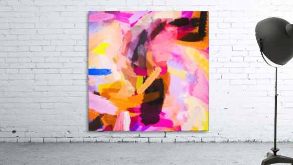 pink purple yellow brown painting texture abstract background