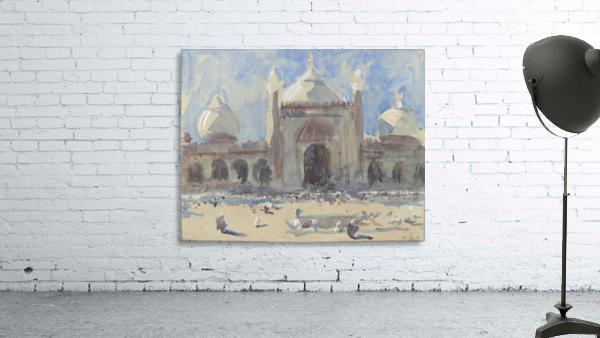 Entrance to the Jama Masjid, Delhi
