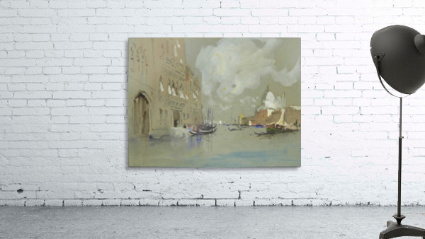 View of Venice along a canal
