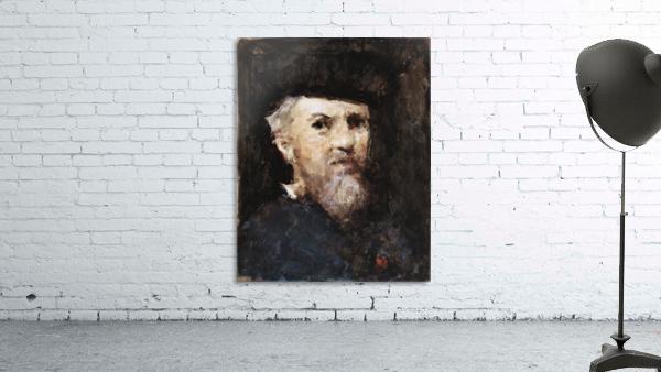 A souvenir of a self-portrait by Jean-Jacques Henner