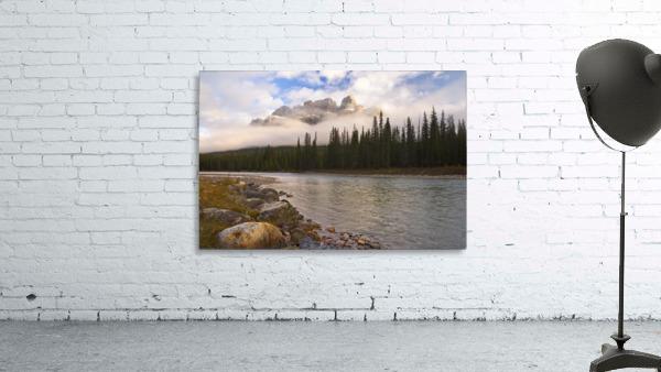 Mountain Landscape, Banff National Park, Alberta, Canada