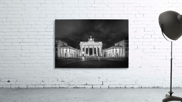 BERLIN Brandenburg Gate | Monochrome