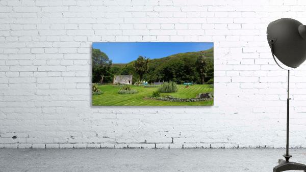 Victorian Walled Garden , Kylemore Abbey, Ireland,