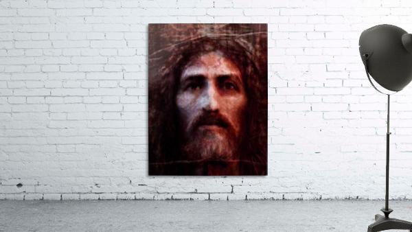 Christ face reconstruction claret