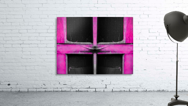 old pink wooden door abstract background
