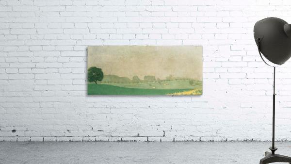Morning mist in Romanel by Felix Vallotton