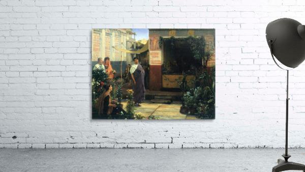 The Flower Market by Alma-Tadema