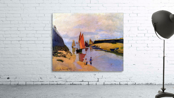 Port of Trouville by Monet