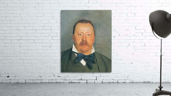Portrait of Alfred Delisle by Felix Vallotton
