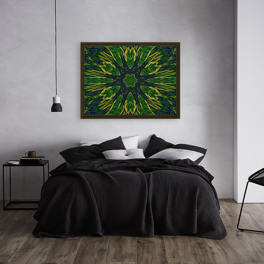Green Flower 4  Art