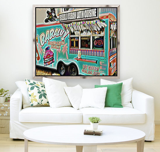 food truck one- okc with Floating Frame