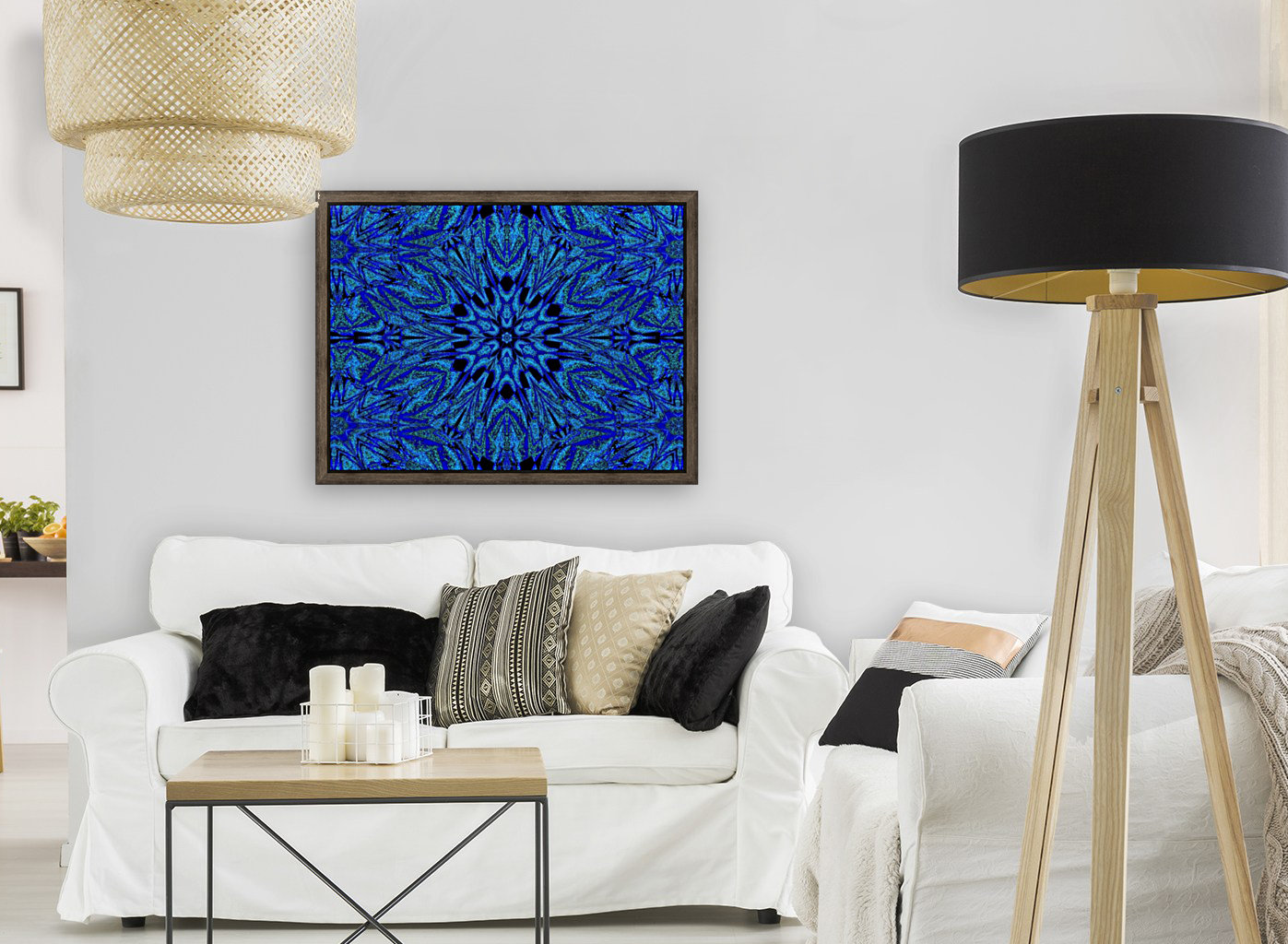 Electric Blue 1  Art