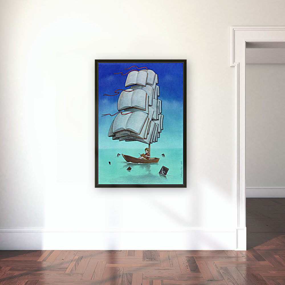 Journey with sharks  Art