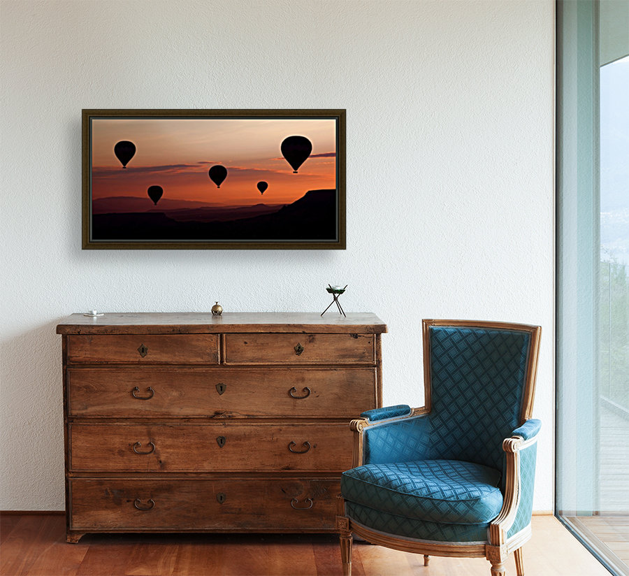 balloons with Floating Frame