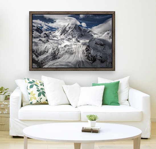 Glacial with Floating Frame