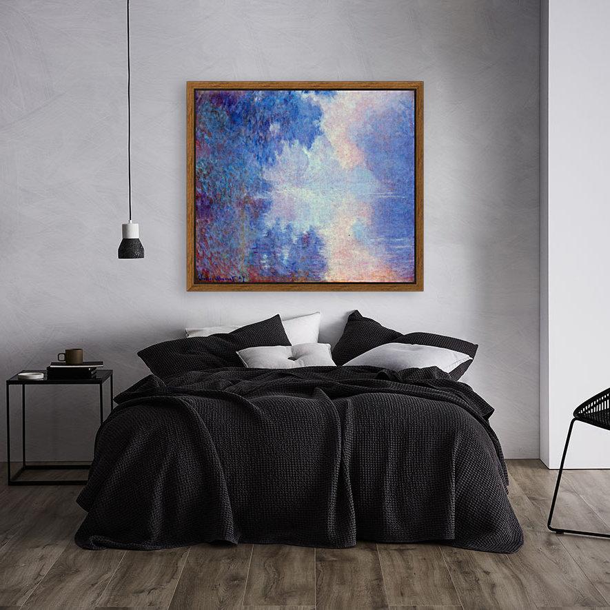 Seine in Morning by Monet  Art