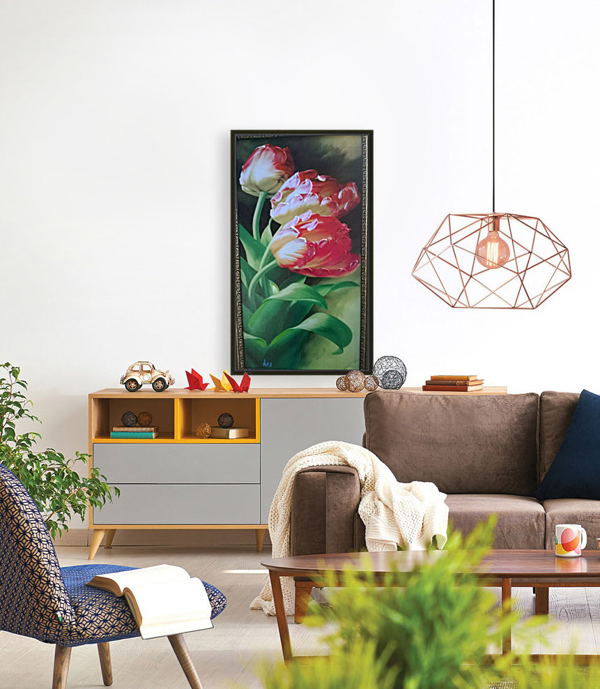 red flowers for  lovers   Art