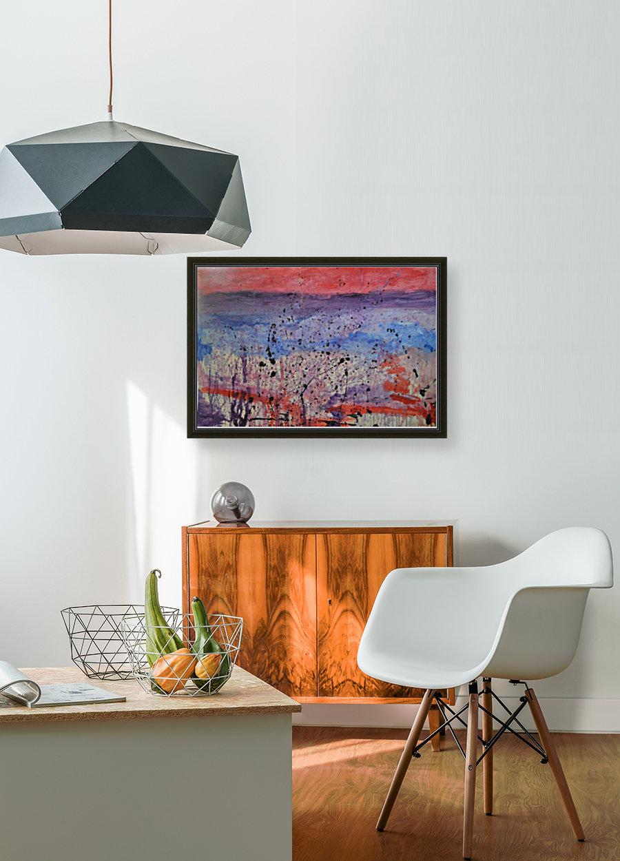 Abstract Sunset Wonder  Art